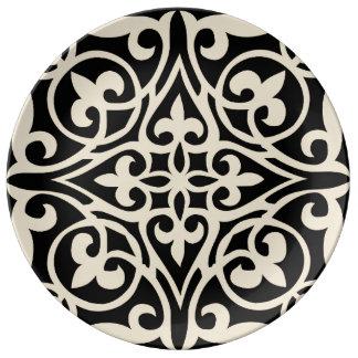 Fretwork Porcelain Plate