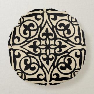 Fretwork Round Pillow