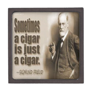 Freud And Cigar Quote Gift Box