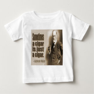 Freud And Cigar Quote Tee Shirts