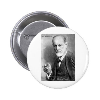 Freud Crazy Lovers Love Quote Gifts Cards Etc 2 Inch Round Button