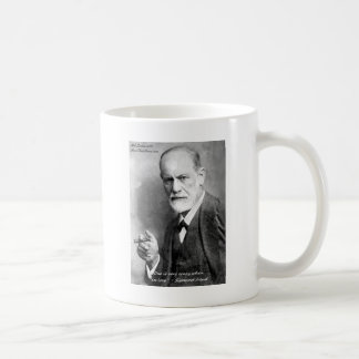 Freud Crazy Lovers Love Quote Gifts Cards Etc Classic White Coffee Mug