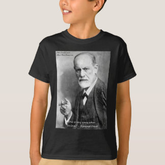 Freud Crazy Lovers Love Quote Gifts Cards Etc T-Shirt
