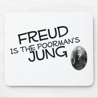 Freud es el Jung del Poorman Alfombrilla De Ratón