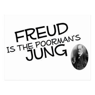 Freud es el Jung del Poorman Tarjeta Postal