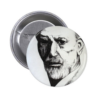Freud Pinback Button