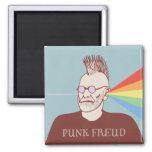 Freud punky imán cuadrado