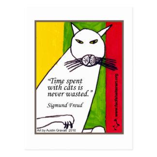 Freud Quote Postcard