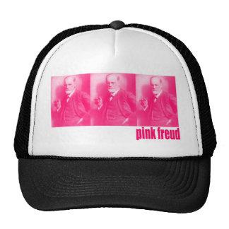 Freud rosado gorros bordados
