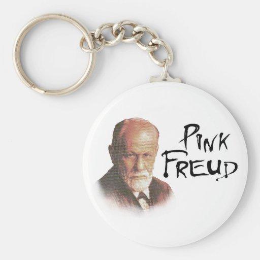 Freud rosado llavero personalizado