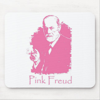 Freud rosado Mousepad Alfombrillas De Ratones