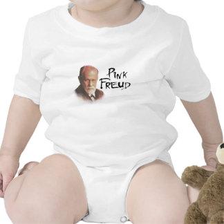 Freud rosado traje de bebé