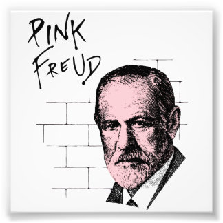 Freud rosado Sigmund Freud Fotografía