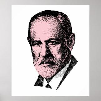 Freud rosado Sigmund Freud Posters
