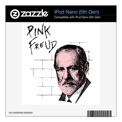 Freud rosado Sigmund Freud Skin Para El iPod Nano