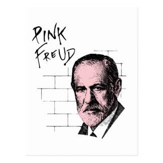Freud rosado Sigmund Freud Tarjeta Postal