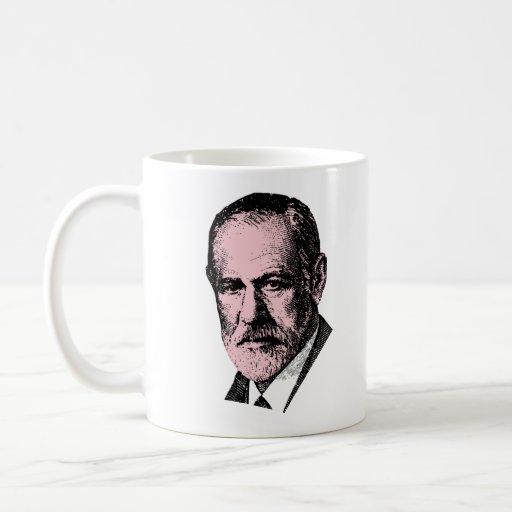 Freud rosado Sigmund Freud Tazas