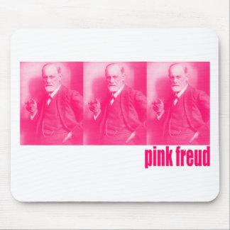 Freud rosado tapetes de raton