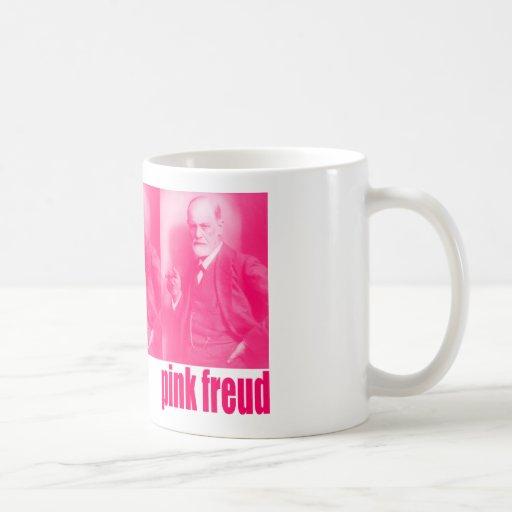 Freud rosado tazas