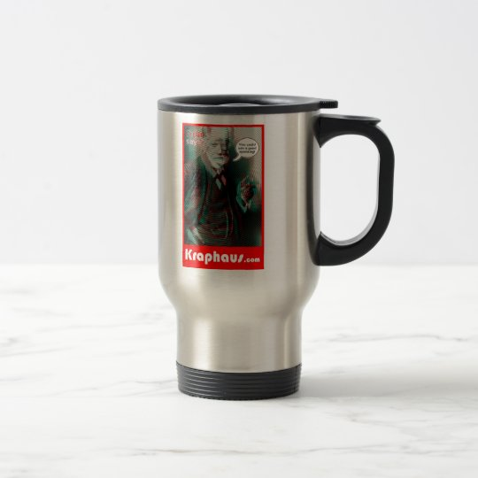 Freud Spanking Travel Mug