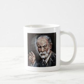 freud taza básica blanca