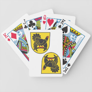 Freudenstadt district bicycle card deck