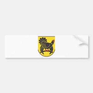 Freudenstadt distrito administrativo pegatina de parachoque