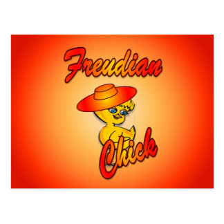 Freudian Chick #5 Postcard