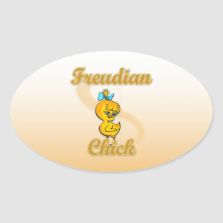 Freudian Chick Stickers