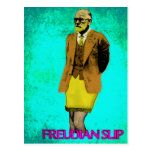 Freudian Slip Grunge Pop Art Meme Post Cards