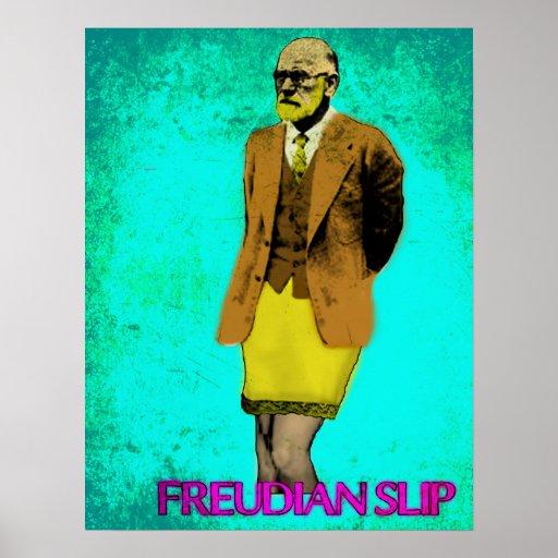 Freudian Slip Grunge Pop Art Meme Posters