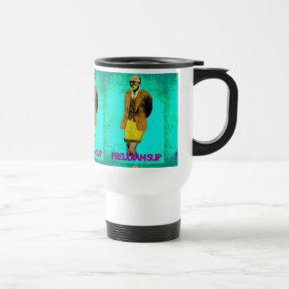 Freudian Slip Grunge Pop Art Meme Travel Mug