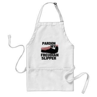 Freudian Slipper aprons