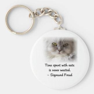 Freud's Cat Keychain