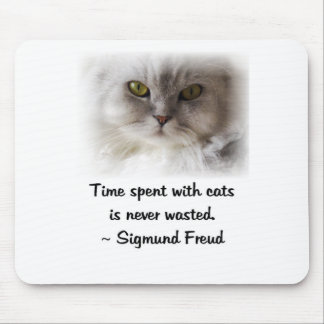 Freud's Cat Mouse Pad