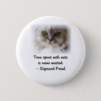 Freud's Cat Pinback Button