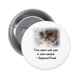 Freud's Cat Pinback Button