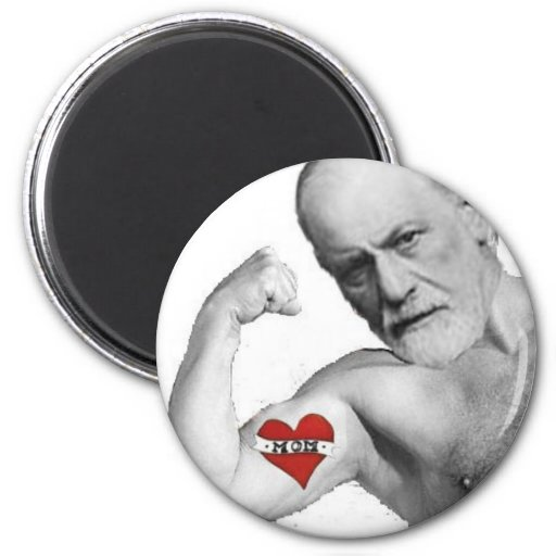 Freud's Mom was HOT 2 Inch Round Magnet