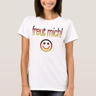 Freut Mich! German Flag Colors T-Shirt