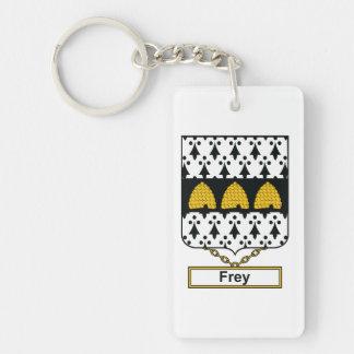 Frey Family Crest Keychain