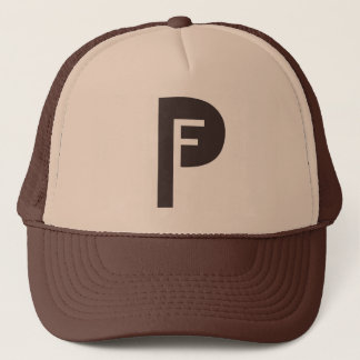 Frey Productions Brown/Khaki Trucker Hat