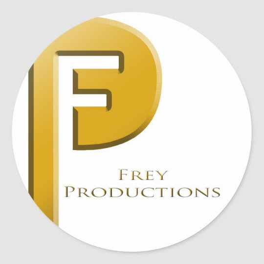 Frey Productions Gold Sticker