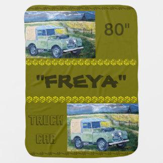 """""""FREYA"""" Baby Blanket"""