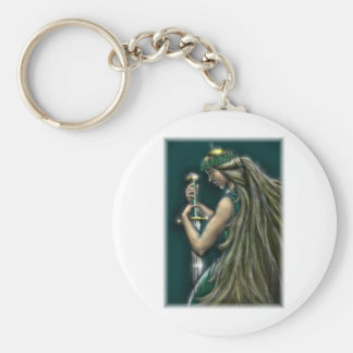 Freya by David Barlow Keychain