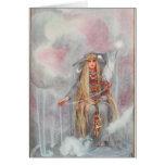 Freya, reina de dioses de los nórdises felicitaciones