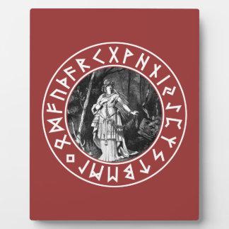 Freya Shield Plaque