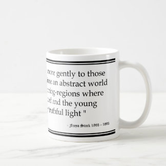 Freya Stark Age Quote Coffee Mug