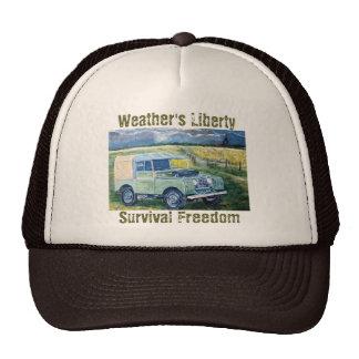 """""""FREYA"""" Weather's Liberty Motto- Trucker Cap Trucker Hat"""