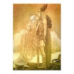 Freyja and Svipdag by John Bauer 1911 Card
