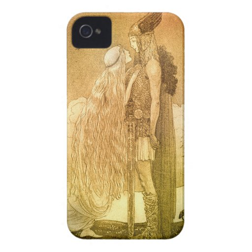 Freyja and Svipdag by John Bauer 1911 iPhone 4 Case